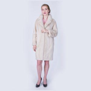 Пальто Fursini из норки жемчу